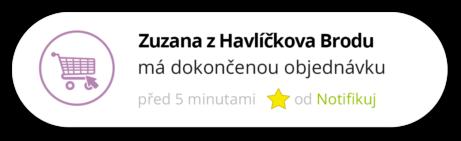 Notifikace Objednávky | Notifikuj.cz
